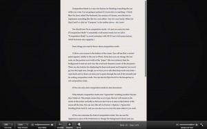 Scrivener guida italiano: composition mode - Schermo intero