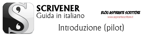 Scrivener guida italiano - Introduzione